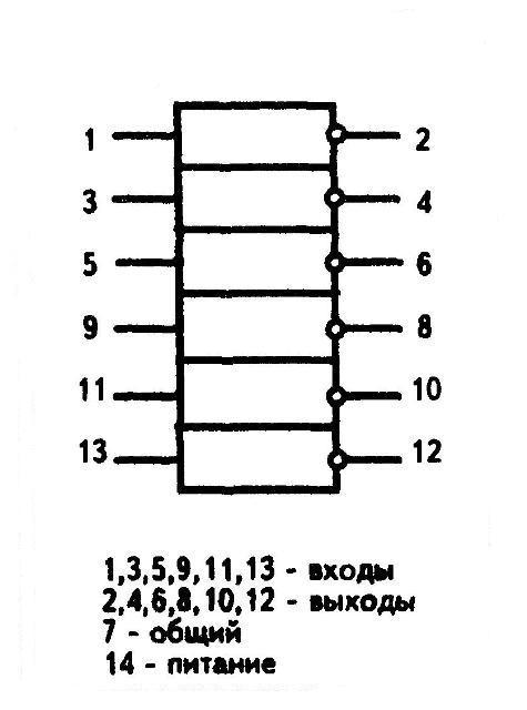 К1564ТЛ2 - условное графическое изображение