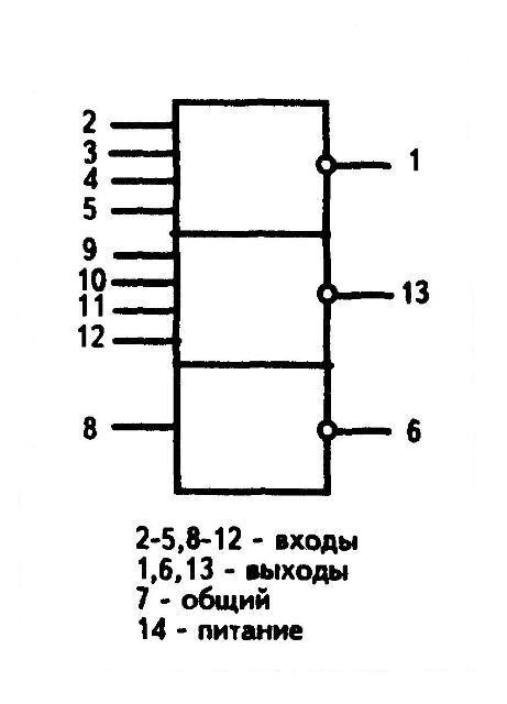 К176ЛП11 - условное графическое изображение