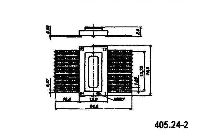 К564ИР13 (MM54C905) - корпус микросхемы