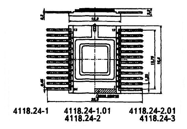 К564ИП3 (MC14581A) - корпус микросхемы
