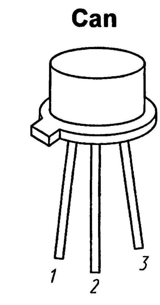 Корпус транзистора 2N123
