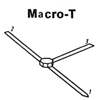 Корпус транзистора  2N852