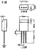 Корпус транзистора   2SC3313