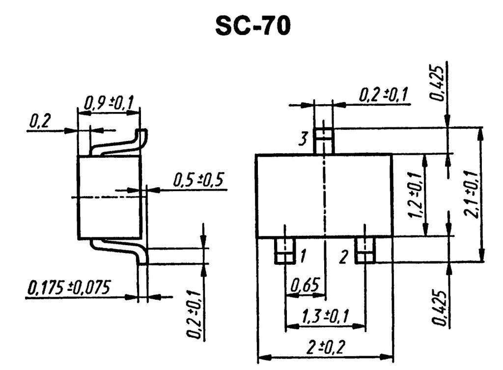 Корпус транзистора  2SA1920