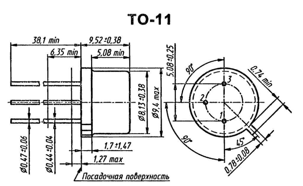 Корпус транзистора 2C2151