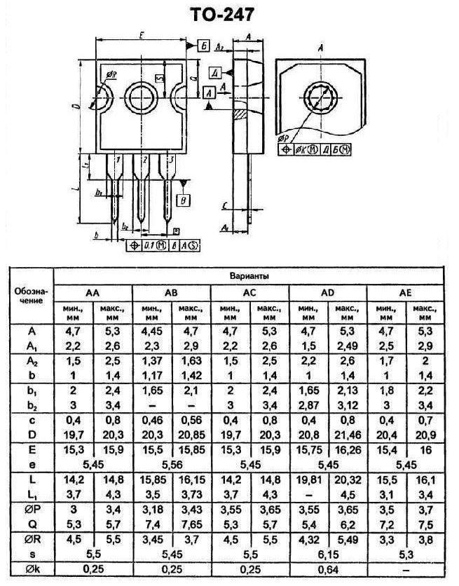 Корпус транзистора   2SC3277S