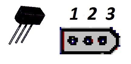 Корпус транзистора  2N6112