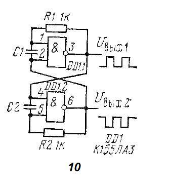 Автогенератор с парафазными выходами