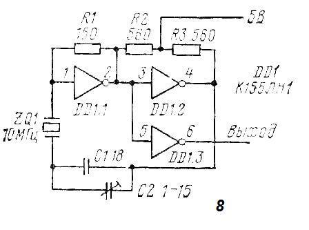 Автогенератор с буферным элементом