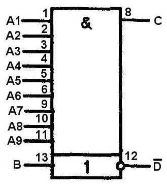 К176ЛИ1 - структурная схема