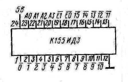 Цоколёвка К155ИД3
