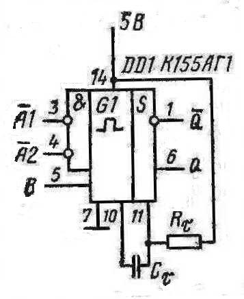 К155АГ1 схема включения
