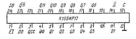 Цоколёвка 155ИР17 AM2504