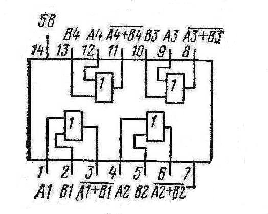 К155ЛЛ1 КМ155ЛЛ1 7432 SN7432N SN7432J