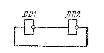 Кольцо из двух инверторов