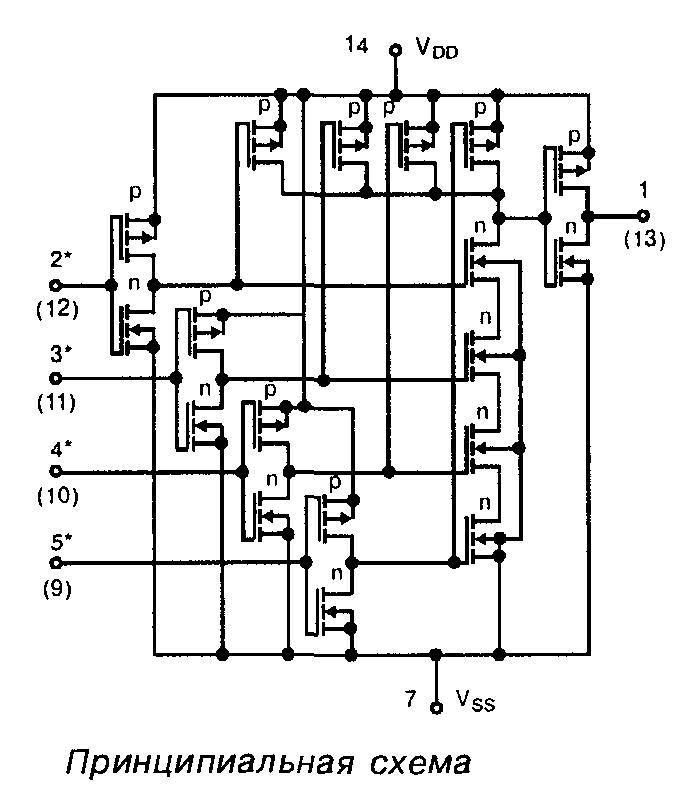 4002 - принципиальная схема