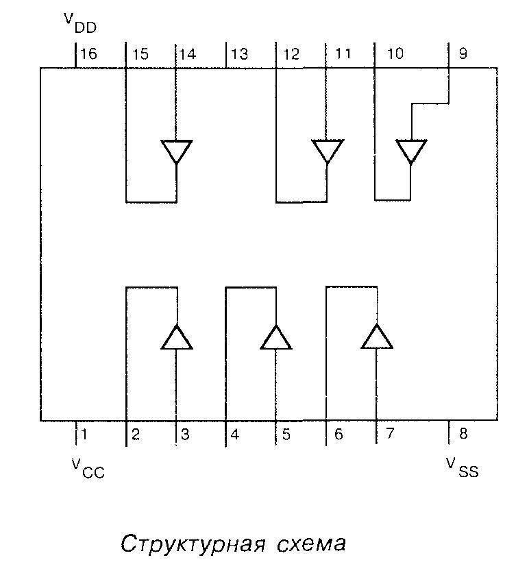 4010 - структурная схема