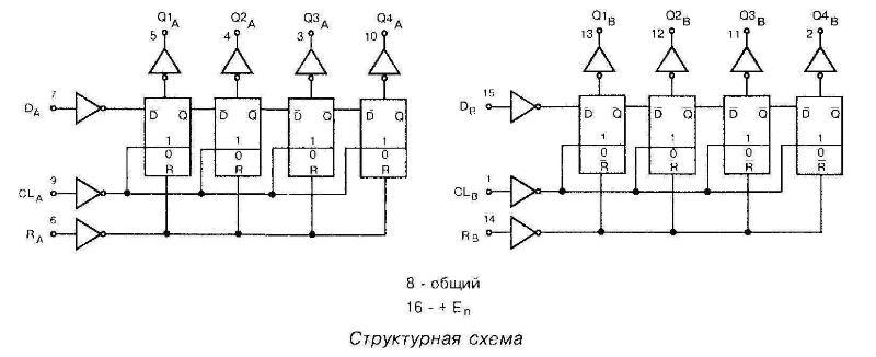 4015 - структурная схема