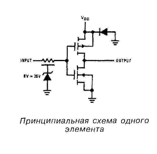 Микросхема 4049