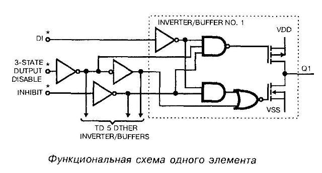 Микросхема 4502