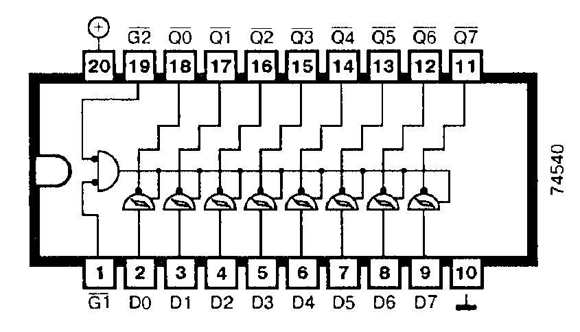 Микросхема 74540
